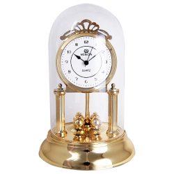 Merion forgóingás quartz asztali óra, arany szín