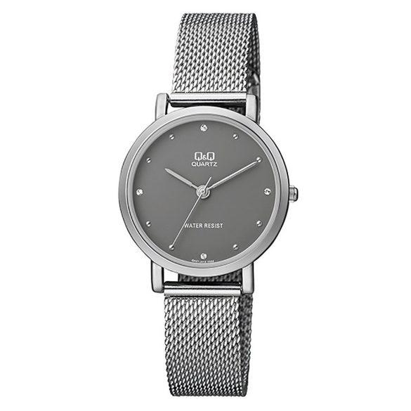 Q&Q női fémcsatos karóra, quartz, ezüst színű, QA21J232Y