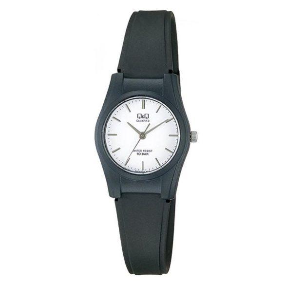 Q&Q női műanyag karóra, quartz, fekete színű, VQ03J003Y