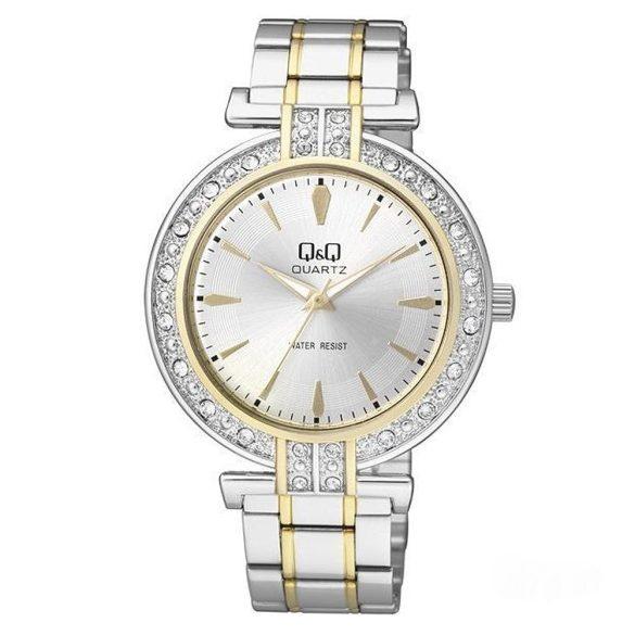 Q&Q női ékszeróra, quartz, bicolor színű, Q885J401Y