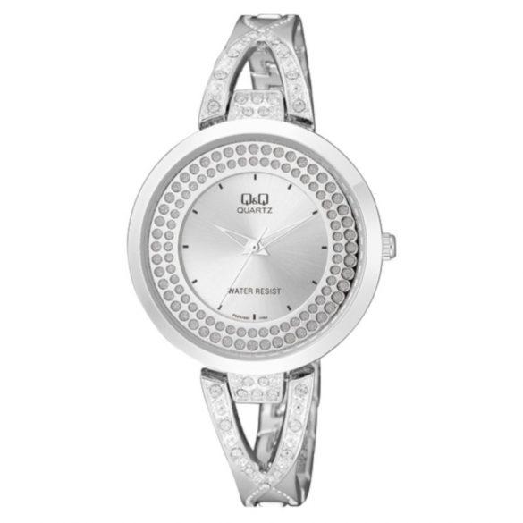 Q&Q női ékszeróra, quartz, ezüst színű, F529J201Y