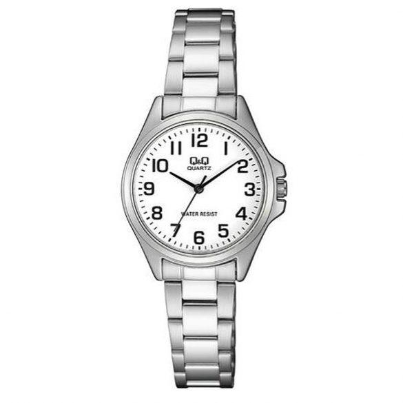 Q&Q női ékszeróra, quartz, ezüst színű, QA07J204Y