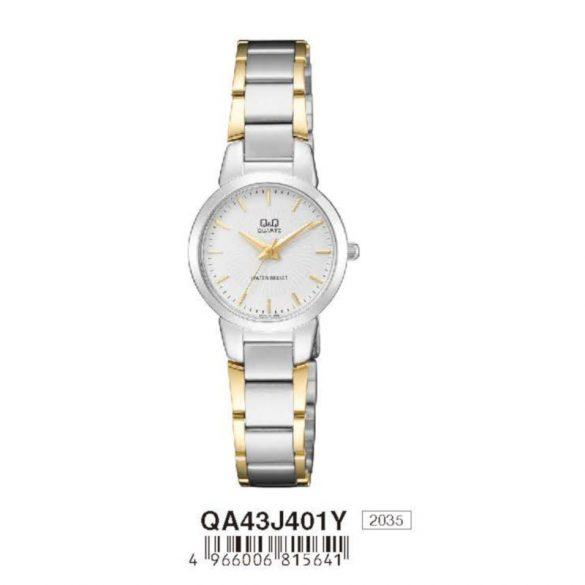 Q&Q női fémcsatos karóra, quartz, bicolor színű, QA43J401Y