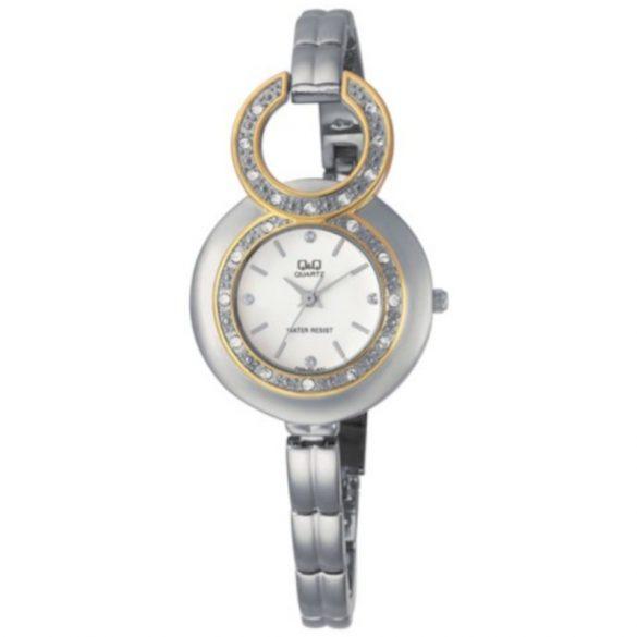 Q&Q női ékszeróra, quartz, ezüst színű, F329J401Y