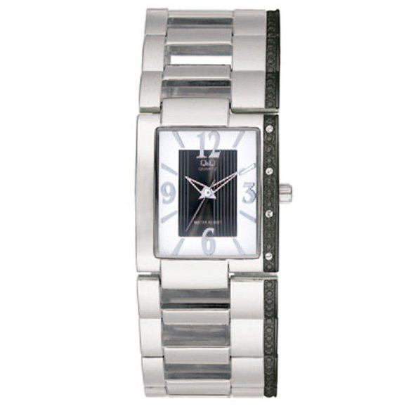 Q&Q női ékszeróra, quartz, ezüst színű, F357J424Y