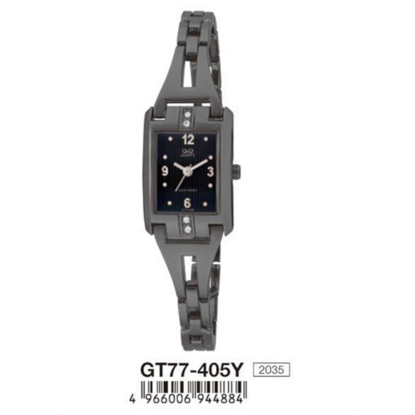 Q&Q női ékszeróra, quartz, fekete színű, GT77-405Y