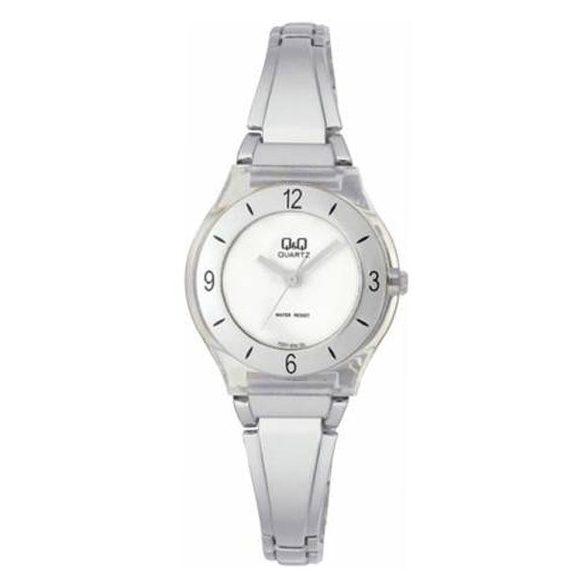 Q&Q női ékszeróra, quartz, ezüst színű, FZ01-204Y