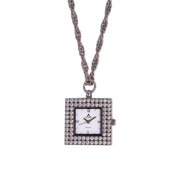 Astron női nyakláncóra, quartz, ezüst színű
