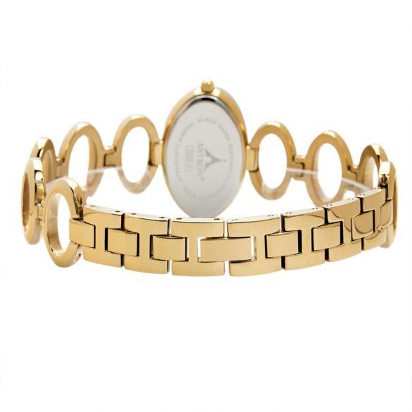 Astron női ékszeróra, quartz, arany színű