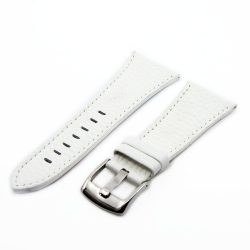 Minöségi börszíj fehér ezüst 30 mm XL