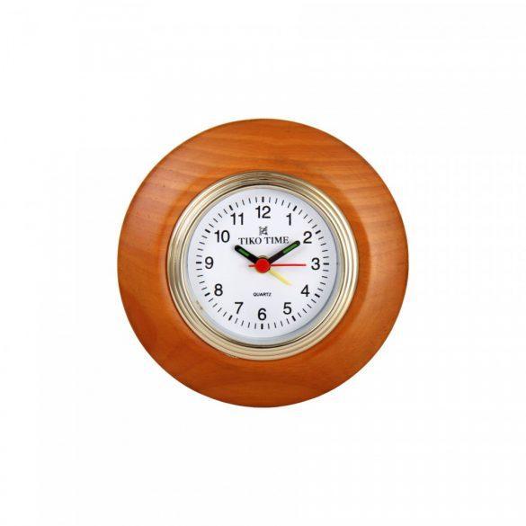 Tiko Time quartz fa asztali óra (cseresznye)