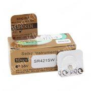 348 (SR421SW) ezüst-oxid gombelem bl1 (Seizaiken)