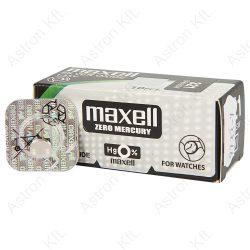 321 (SR616SW) ezüst-oxid gombelem, bl1(Maxell)
