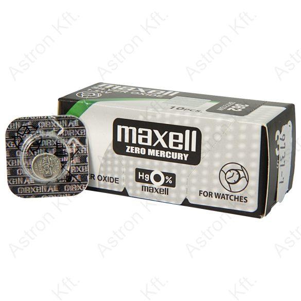 362 ezüst-oxid gombelem, bl1 (Maxell)