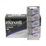 2032 lithium gombelem, bl5 (Maxell)