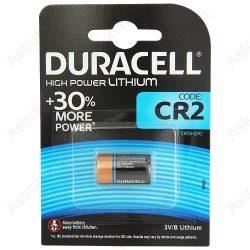 Duracell CR2 tartós fotó elem, 3V, bl1/db