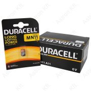 Duracell MN11, 6V, elem bl1/db