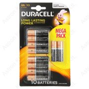 Duracell Long Lasting Power AA 1, 5V elem bl10/db