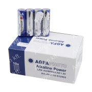 AgfaPhoto alkáli ceruza elem AA Foliás csomagolás 4/db