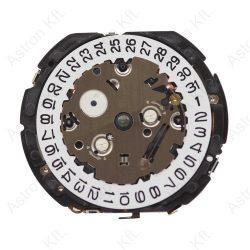 Epson YM91A quartz szerkezet, chronograph, dátum 3 óránál